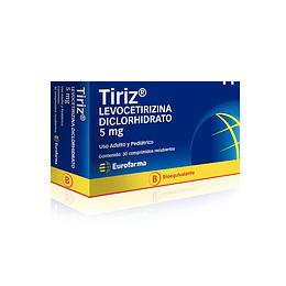Tiriz 5 mg 30 comprimidos