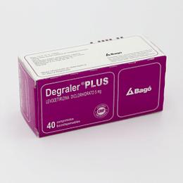Degraler Plus 5 mg 40 comprimidos