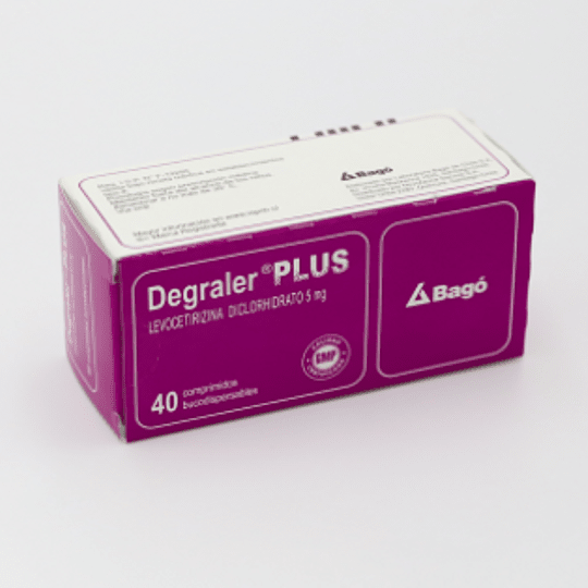 Degraler Plus 5 mg 40 comprimidos