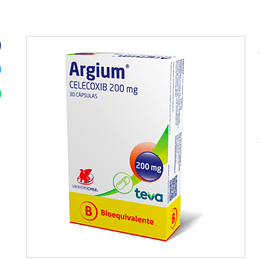 Argium 200 mg 30 cápsulas