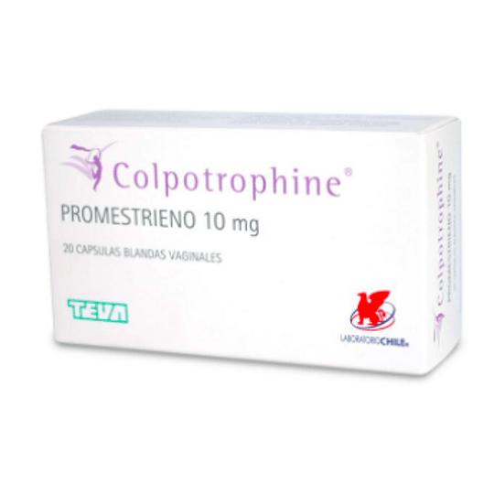 Colpotrophine  10 mg 20 óvulos
