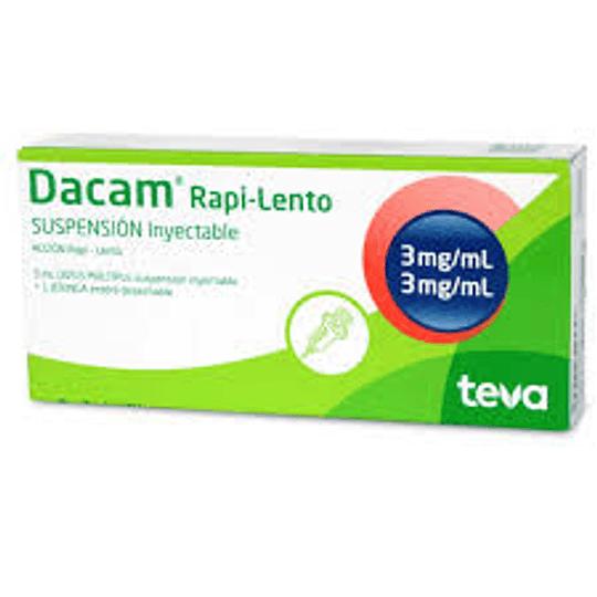 Dacam Rapi-Lento 3 mg / ml Suspensión inyectable