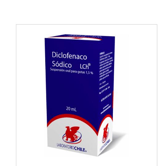 Diclofenaco gotas 20 ml