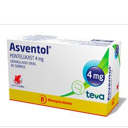 Asventol 4 mg Granulado 30 sobres