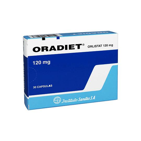 Oradiet 120 mg 30 cápsulas