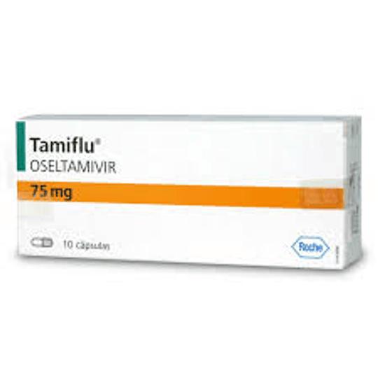 Tamiflu 75 mg 10 cápsulas