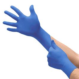 Luvas Nitrilo azuis s/ Pó (11€/caixa 100u + IVA)