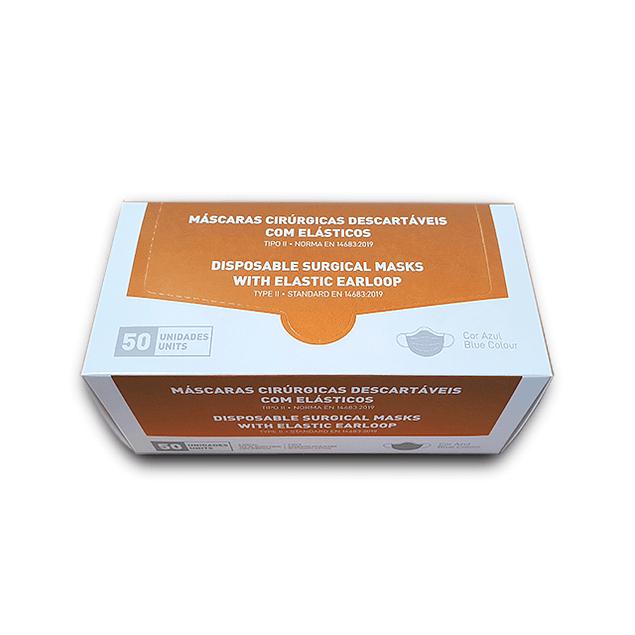 Máscara Cirúrgica Tipo II (0,06 € + IVA)