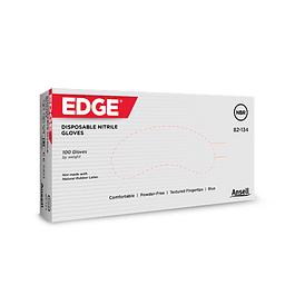 Luvas Nitrilo Edge azuis s/ Pó (31,50 €/caixa 300u + IVA)