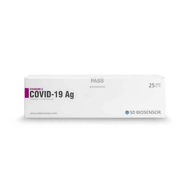 Teste Rápido SARS-CoV-2 de Antigénio SD Biosensor (6,25 € + IVA)