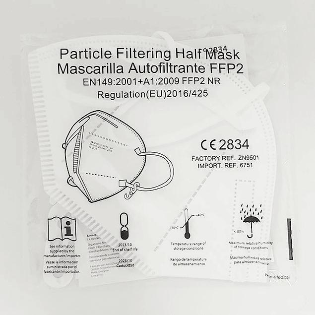 Máscara FFP2 - Pack 20 unidades (desde 0,29 € + IVA)