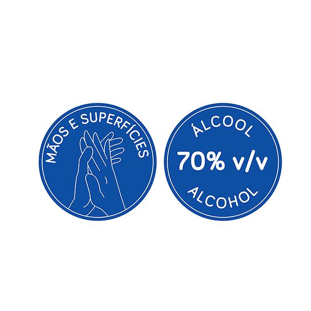 Toalhitas desinfectantes Biodegradáveis (0,05 € + IVA)