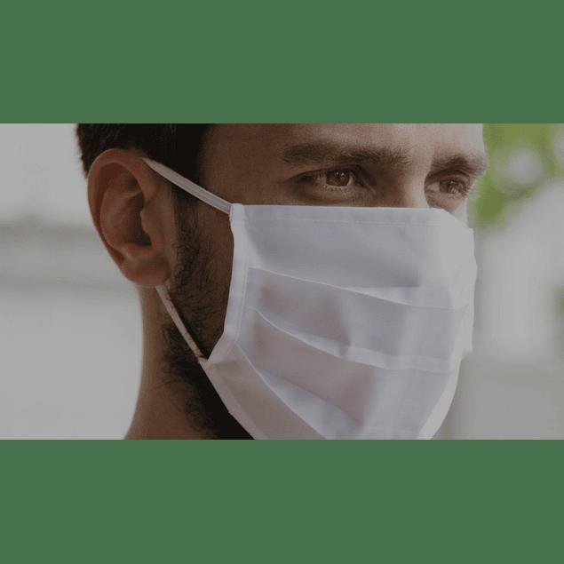 Máscara Reutilizável até 25 Lavagens (0,75 € + IVA)