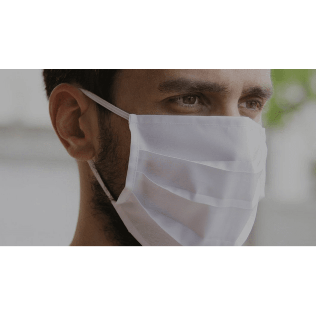 Máscara Reutilizável até 25 Lavagens (0,50 € + IVA)