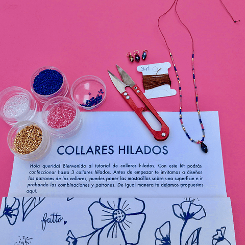 Kit Collar Hilado Aciano