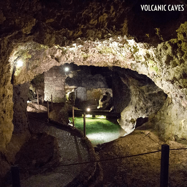 VOLCANIC CAVES