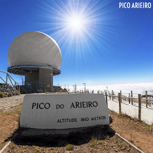 WANDELEN PICO ARIEIRO NAAR PICO RUIVO