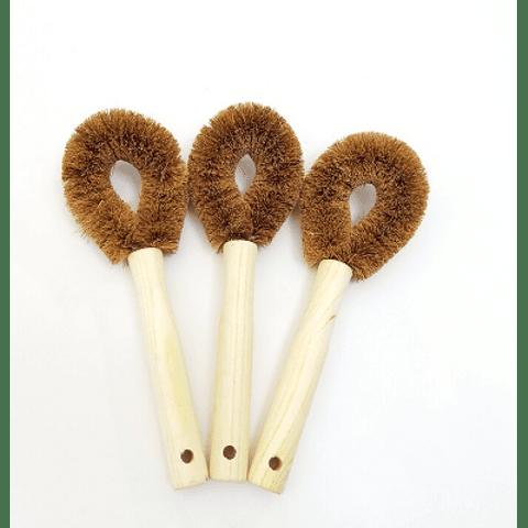 Cepillo fibra de Coco (1 unidad)