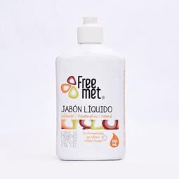 Jabón líquido exfoliante Freemet 250 ml