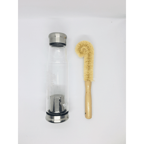 Cepillo para limpiar botellas