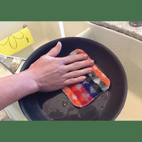 Skoy Scrub, esponja para fregar de colores
