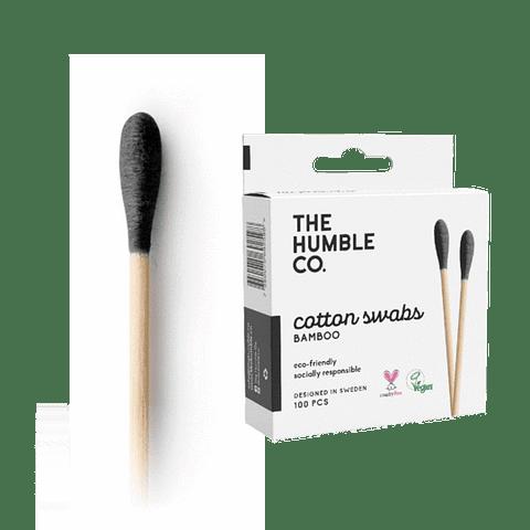 Cotonitos de bambú - negro
