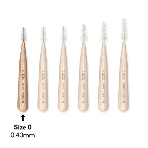 Cepillo Interdental de bambú (0.4 mm)