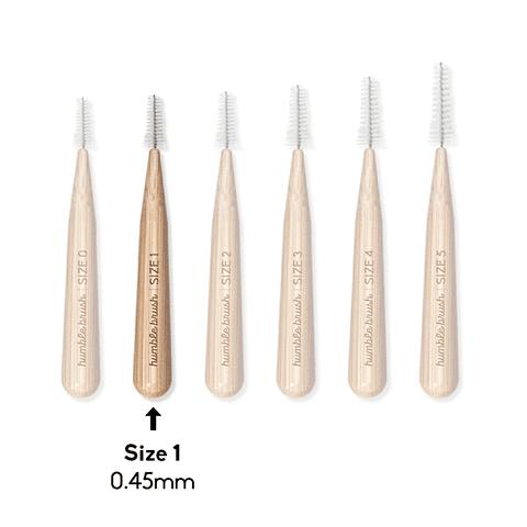 Cepillo Interdental de bambú (0.45 mm)