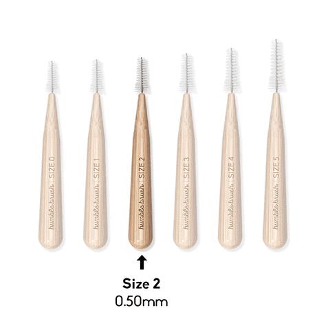 Cepillo interdental de bambú (0.5 mm)