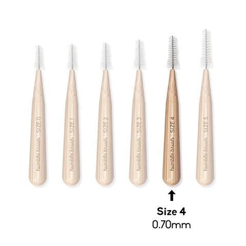 Cepillo Interdental de bambú (0.7 mm)