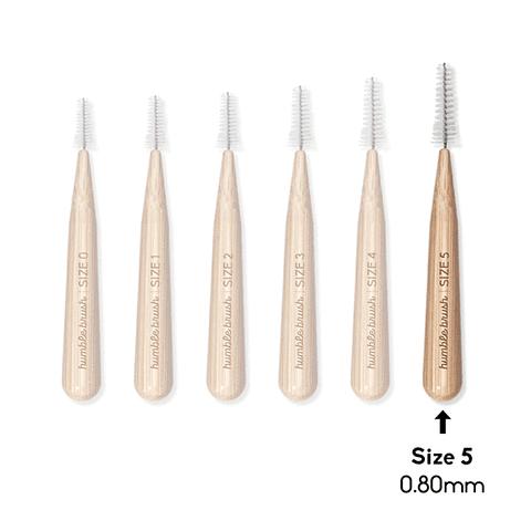 Cepillo Interdental de Bambú (0.8 mm)