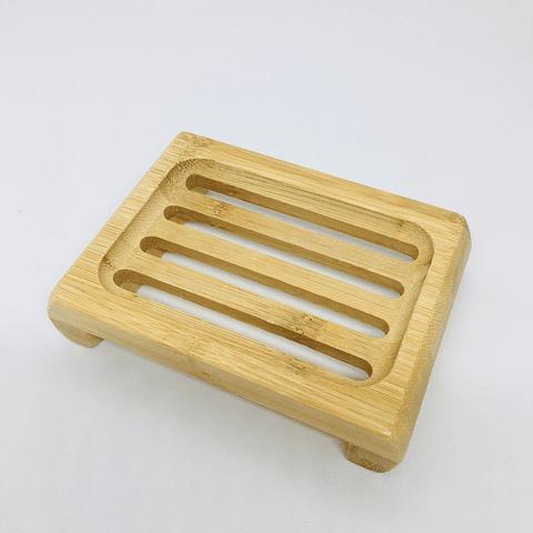 Jabonera de bambú
