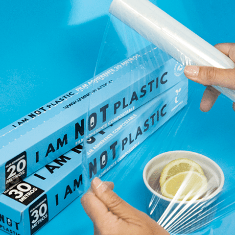 Film Adherente 30 Mts compostable