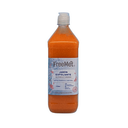 Jabón Exfoliante Natural Recarga 1 Litro
