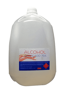 ALCOHOL GEL AL 75% BIDON DE 5 LTS
