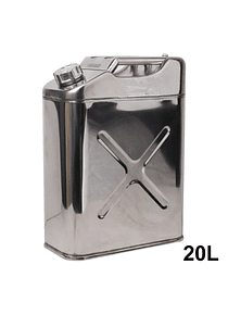 Bidon Metalico Acero Inoxidable 20lts