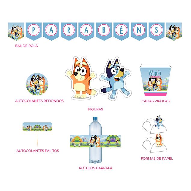 Produtos Festa Bluey Menina