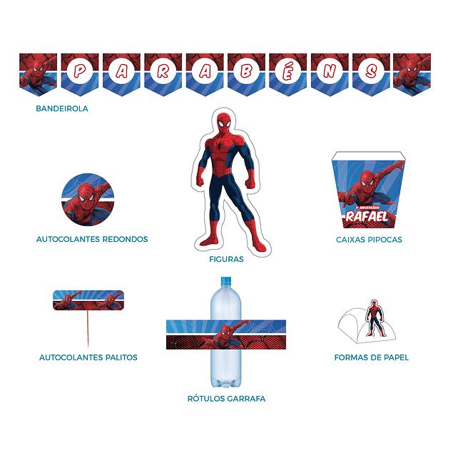 Produtos Festa Homem Aranha