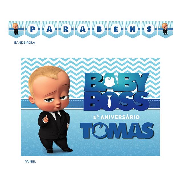 Kit Festa Boss Baby