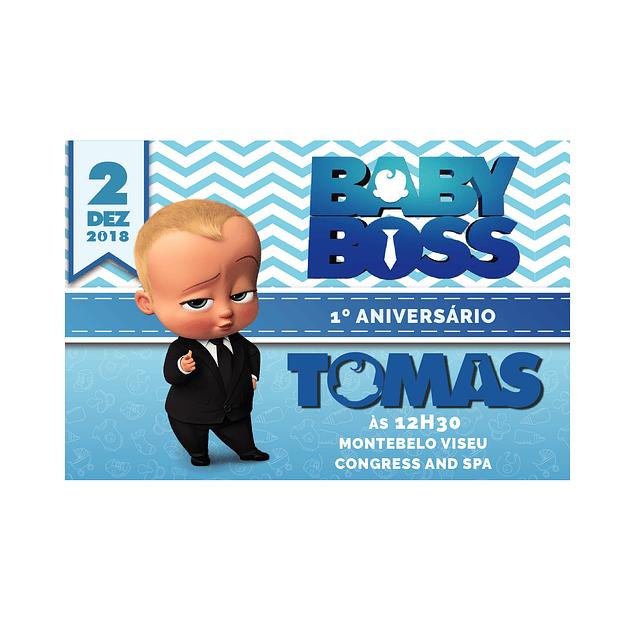 Convites Boss Baby
