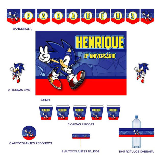 Kit Festa Sonic