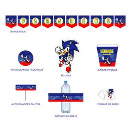 Produtos Festa Sonic