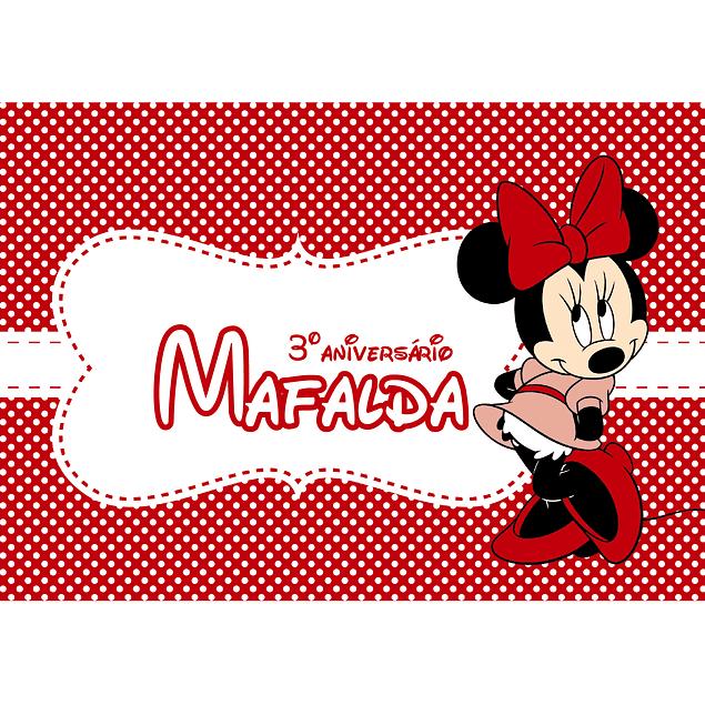 Produtos Festa Minnie Vermelha