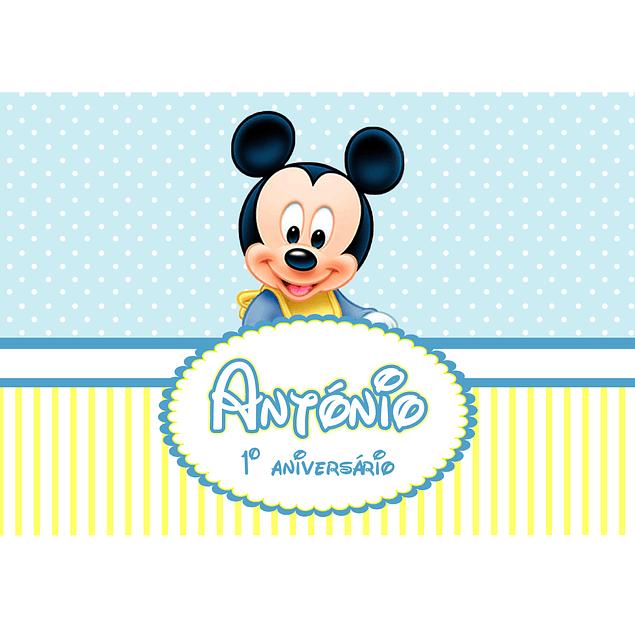 Produtos Festa Mickey Pastel
