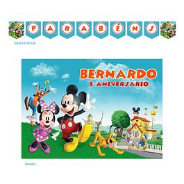 Kit Festa Mickey Aventuras