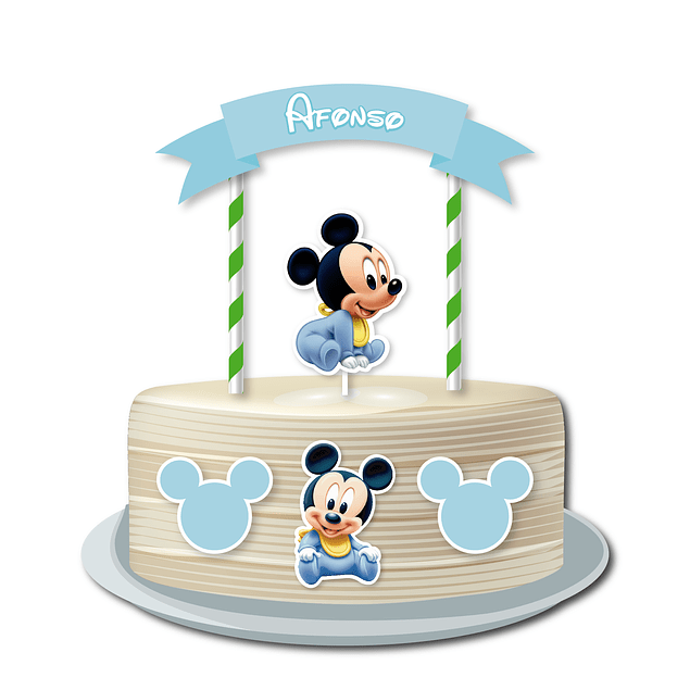 Produtos Festa Mickey Bebé