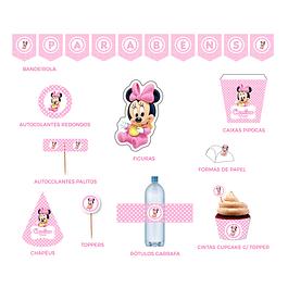 Produtos Festa Minnie Bebé