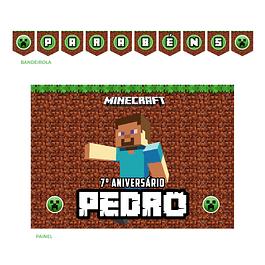 Kit Festa Minecraft