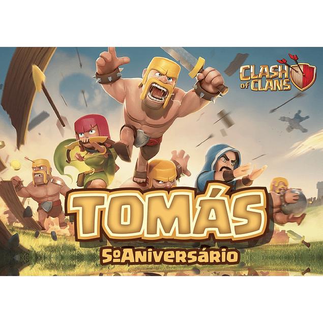 Produtos Festa Clash of Clans