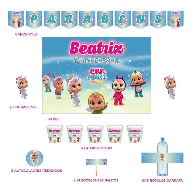 Kit Festa Cry Babies